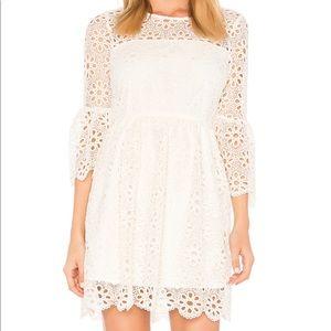 Jack by BB Dakota Lauper Off White Dress Womens